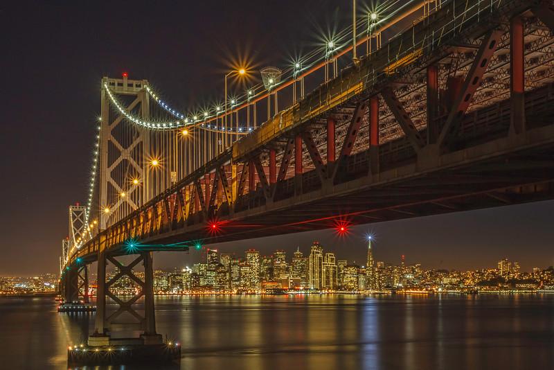 City view under the Bridge