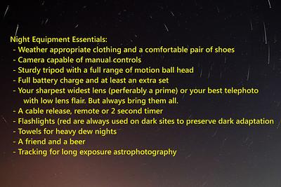 ECP Night Equipment