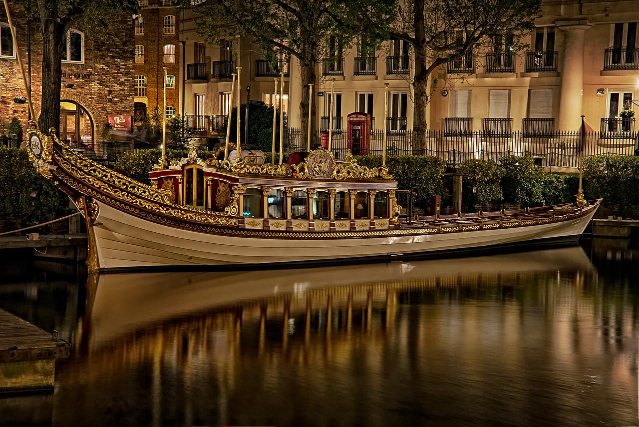ER St Katharine's Dock London