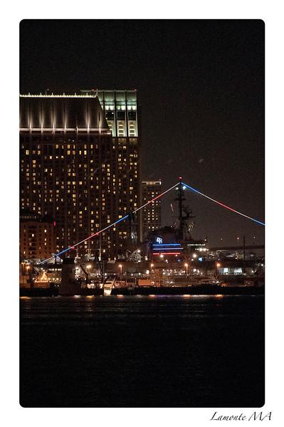 San Diego Night Sky Wharf