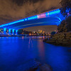 35W bridge and river of blue