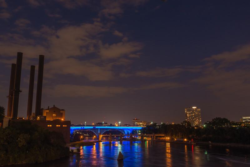 35W Bridge from Central Avenue Bridge