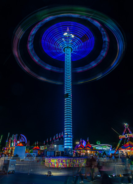 Sky Flyer at the State Fair