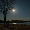 Full Moon over Prairie Lake