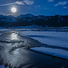 TRWT-12-39: Moon glow on the Lamar River