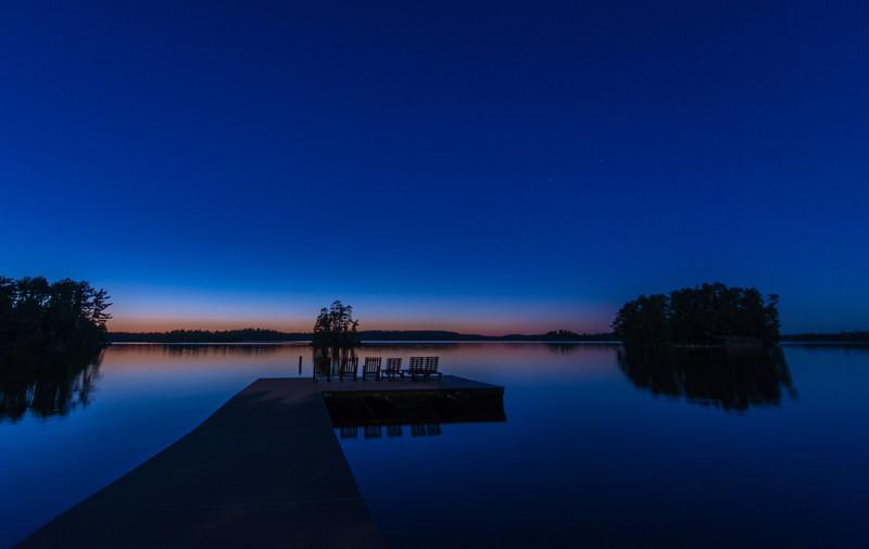 Evening at Burnside Lake