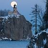 MNWN-9089: Full moon at Splitrock Lighthouse
