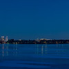 Lake Calhoun full moon pano