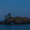 Lake Superior full moon