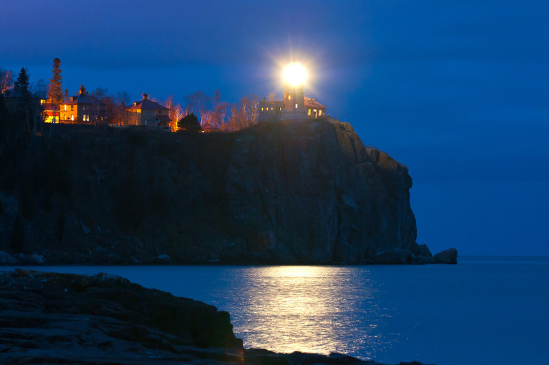 MNLR-11277: Lighting of Splitrock Lighthouse