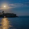 Moonshine through Hollow Rock