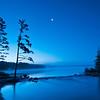 MNLR-11158: Headwaters by moonlight