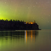 Split Rock Lighthouse Aurora borealis