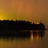 Aurora over Split Rock Lighthouse