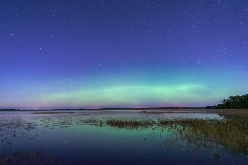 Phantom Lake aurora
