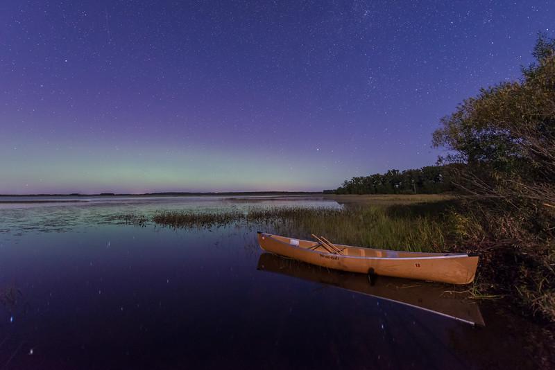 Northern Lights and Wenonah Canoe