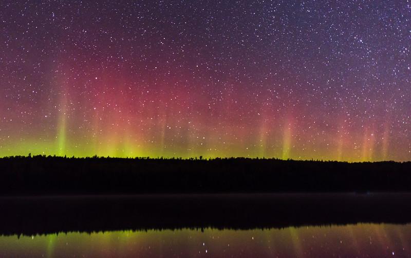 Poplar Lake Aurora