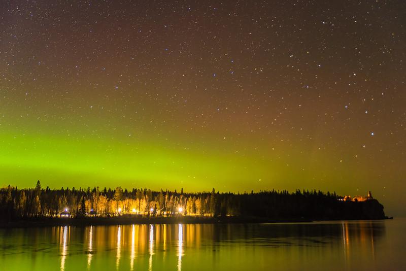 Lake Superior Northern Lights