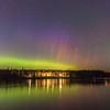Northern Lights at Split Rock State Park