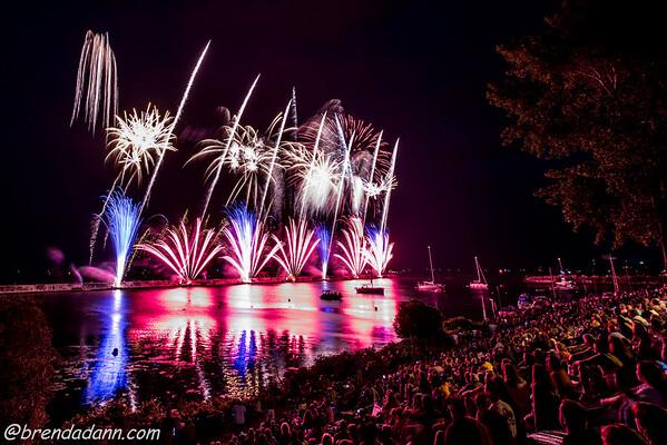 Oswego Harborfest 2015 Fireworks