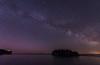 Milky Way over Ellingson Island