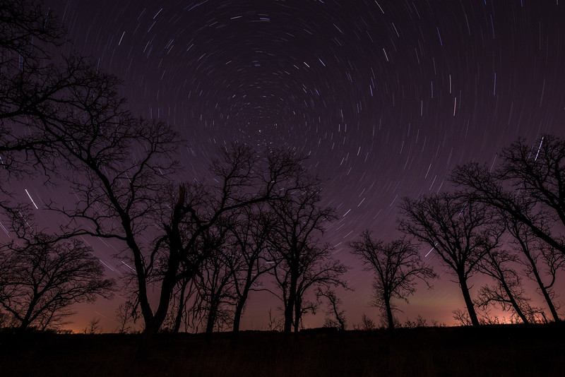 Star Trails in Central Minnesota