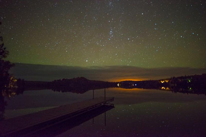 Northern Lights at Caribou Lake