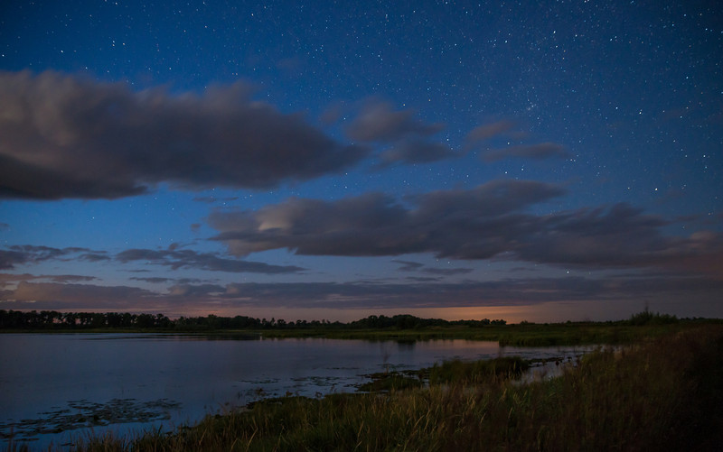 MNGN-13-38: Evening Stars over Crex Meadows WMA