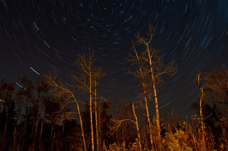 MNGN-10051: Northern Minnesota star trails