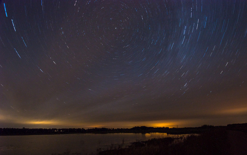MNGN-13-61: Star Trails over Dike 4