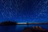 Star Trails over Burntside Lake