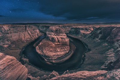 Horseshoe bend early morning