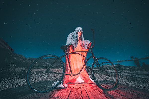 A ghost and its bike