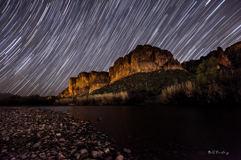 """Salt River Star Trails"""