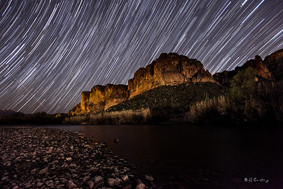 """Salt River Star Trails"""