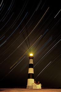 Bodie Island Lighthouse-Cape Hatteras National Seashore-Star Trails