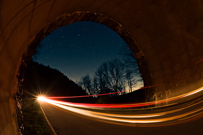 Night Photography | Blue Ridge Parkway | Tunnels