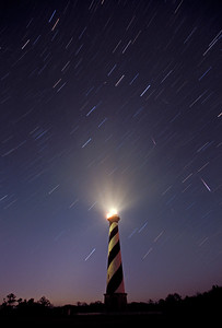 Cape Hatteras Lighthouse-Meteor Showers-Cape Hatteras National Seashore
