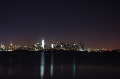 All of lower Manhattan.