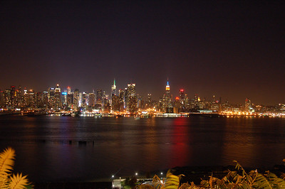 Manhattan from New Jersey.