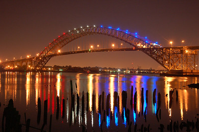 The Bayonne Bridge.
