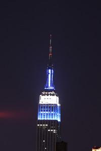 Mid Town & Lower Manhattan Skyline on the Hudson River 6-3-12
