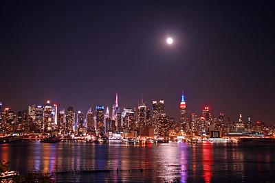 Midtown-Lower Manhattan along the Hudson River 5-27-13