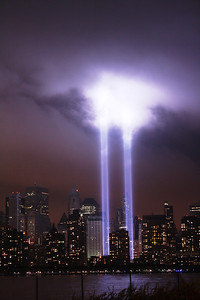 September 11, 2011 Tribute of light & Apparatus
