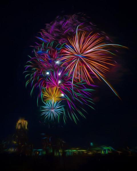 I Dream of Fireworks