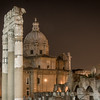 After dark at the Roman forum