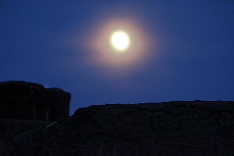 Monhegan Moon