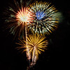Fireworks at Black Mountain