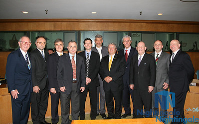 "120608 Showing some Members of the UNECE Conference on ""The Real Estate and Financial crisis"" at the UN Headquarter in Manhattan, NY."
