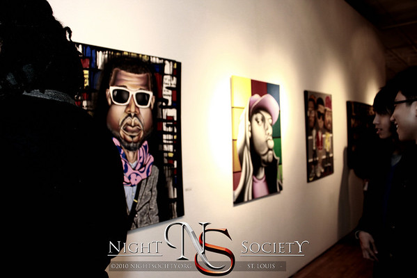 Fresh Paint II: Black Friday at Art D Gallery - Photos taken by Michael